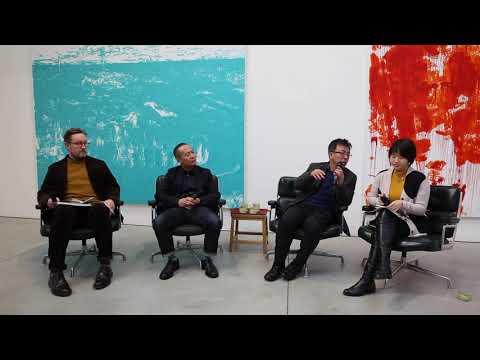 Liu Xiaodong talks about 'Weight of Insomnia' with Zhang Ga