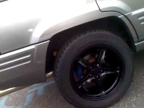 18 Quot Cobra R Rims On Lowered 98 Jeep Grand Cherokee V8