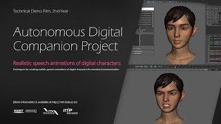 Autonomous Digital Companion Project - Technical Demo Film , 2nd Year