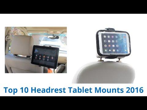 10 Best Headrest Tablet Mounts 2016