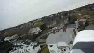 Aerial R/C Plane Video Victorian Mansion Swampscott MA