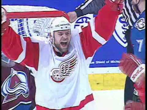 WESTERN CONFERENCE FINALS 2002 - Game 7 - Colorado Avalanche @ Detroit Red Wings - ESPN