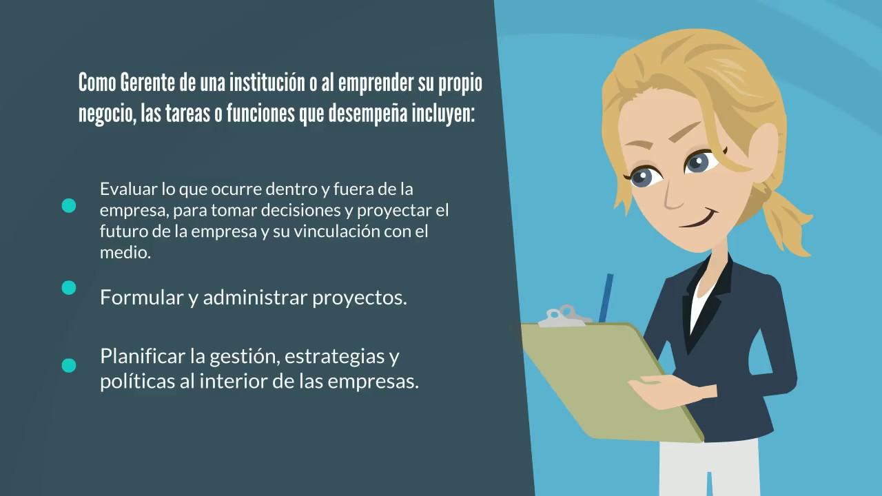 Que hace un profesional en administración y negocios?, estudiar ...