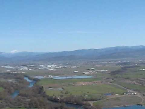 View from Lower Table Rock - Rogue Valley, Southern Oregon