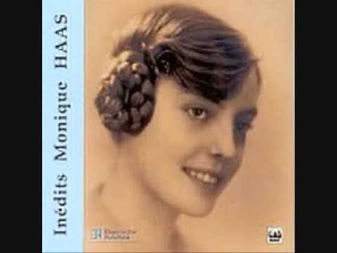 MONIQUE HAAS plays RAVEL SONATINE ( 2 AND 3 mouvements) (RARE)