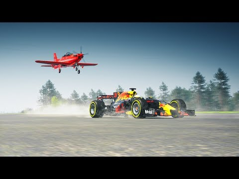 The Crew 2 - Formula 1 Car Vs Air-Plane Drag Race!