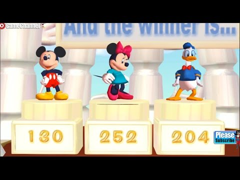 Disney Party Games - Mickey Mouse - Donald Duck - Minnie Mouse - Nintendo Gamecube Kids Games