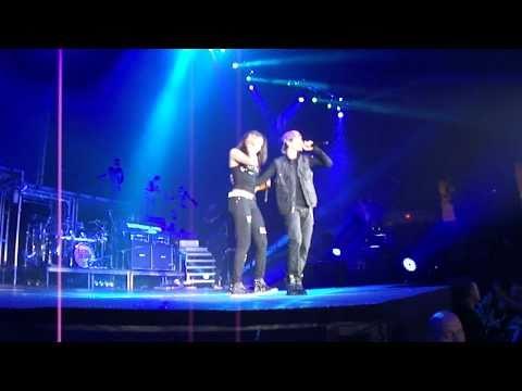 Overboard- Justin Bieber, Jasmine V Norfolk,VA FRONT ROW