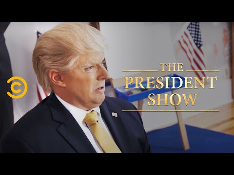 Thumbnail: Donny Goes to School - The President Show - Comedy Central