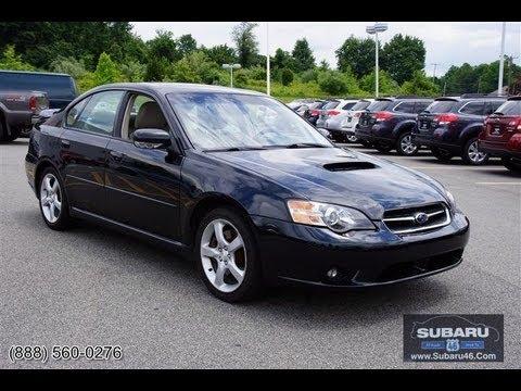 2005 Subaru Legacy 25 Gt Sedan Youtube