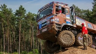 European truck trail @ Furstenau, Germany