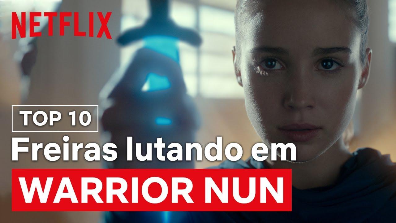 10 cenas das freiras merendando na porrada | Warrior Nun | Netflix Brasil