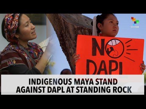 Maya Solidarity Against DAPL at Standing Rock
