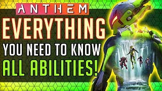anthem  Interceptor: Everything You NEED to Know! All Abilities In-depth Look! #Anthem