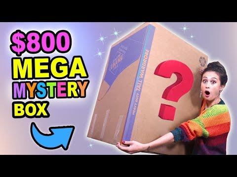$800 MEGA KERST MYSTERY BOX OPENEN  Fan Friday