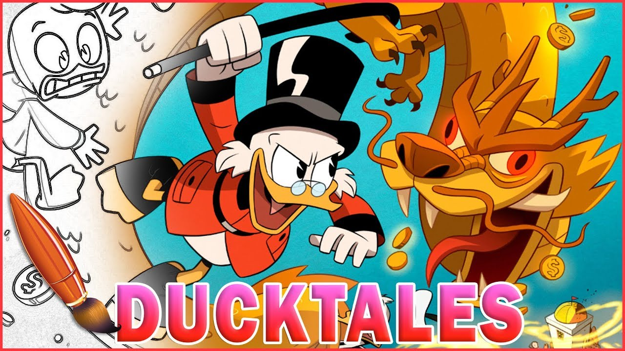 DuckTales Coloring Book | Coloring Pages for Kids | Scrooge McDuck ...