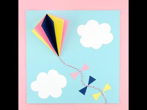 3D Kite Paper Craft