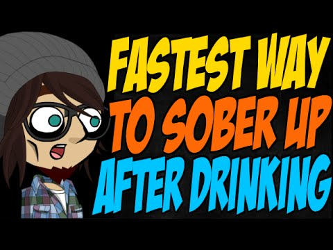 How to sober up fast when drunk