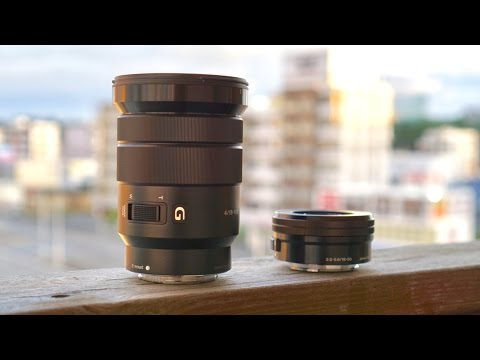 Sony 18-105mm vs Sony Kit Lens