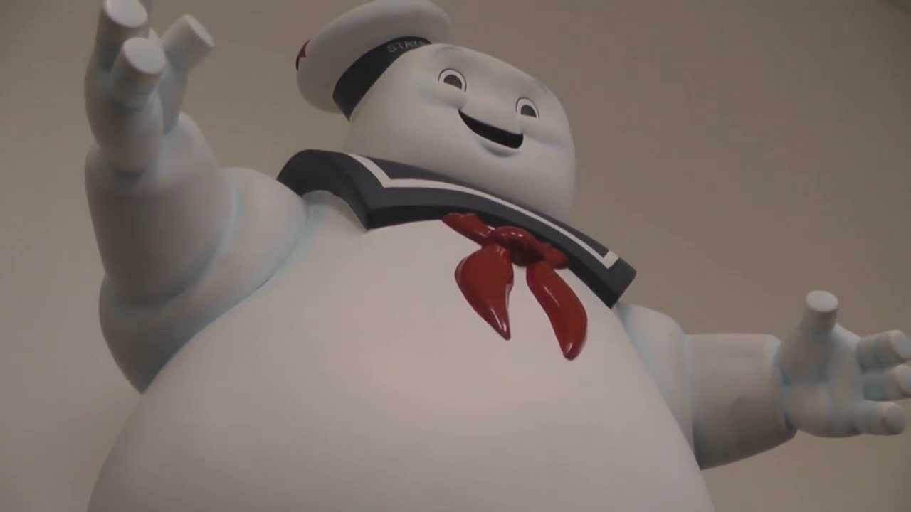 Ghostbusters 24 Inch Stay Puft Marshmallow Man Banks Youtube
