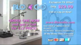 Blo and Go Commercial (infomercial) designed by Senator Norm Coleman's wife