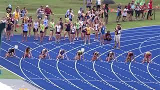 100m 13yrs Girls DIV A, QGSSSA Meet, QSAC 20/10/2017 2017 Video