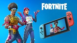 FORTNITE ON NINTENDO SWITCH | PLAY NOW FOR FREE