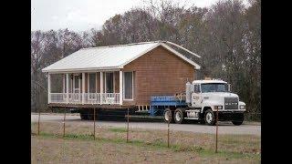 USA КИНО 1072. Чудеса американских сборных домов. Что такое mobile home ?
