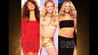 Mariah Carey: Belting Comparison (Three Eras from 1990 to 2014) (G#4 - G#5)
