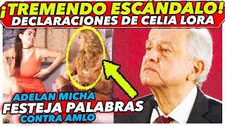 Pide que desaparezcan a AMLO de la tierra en pleno Programa de Adela Micha, Celia Lora