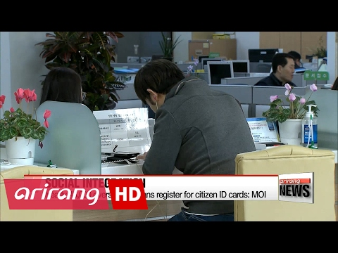 Nearly 46,000 overseas Koreans register for citizen ID cards