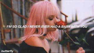 Halsey - you should be sad // lyrics
