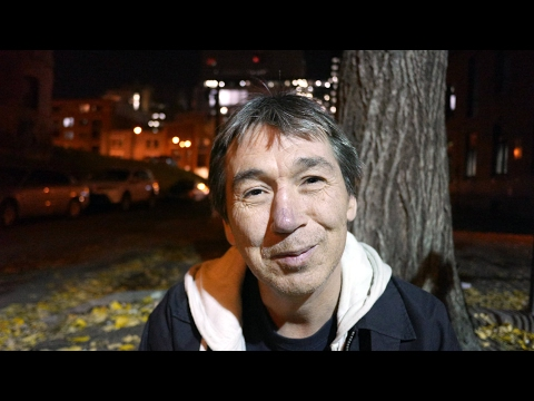 Mark says he has been homeless in Canada off and on for 40 years.
