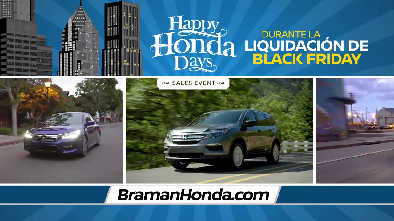 Braman Honda   Happy Honda Days And Durante La Liquidacion De Black Friday