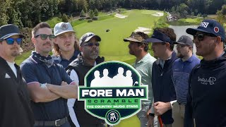Darius Rucker, Jake Owen, Morgan Wallen, & Hardy Vs. The Fore Man Scramble (Troubadour Golf Club)