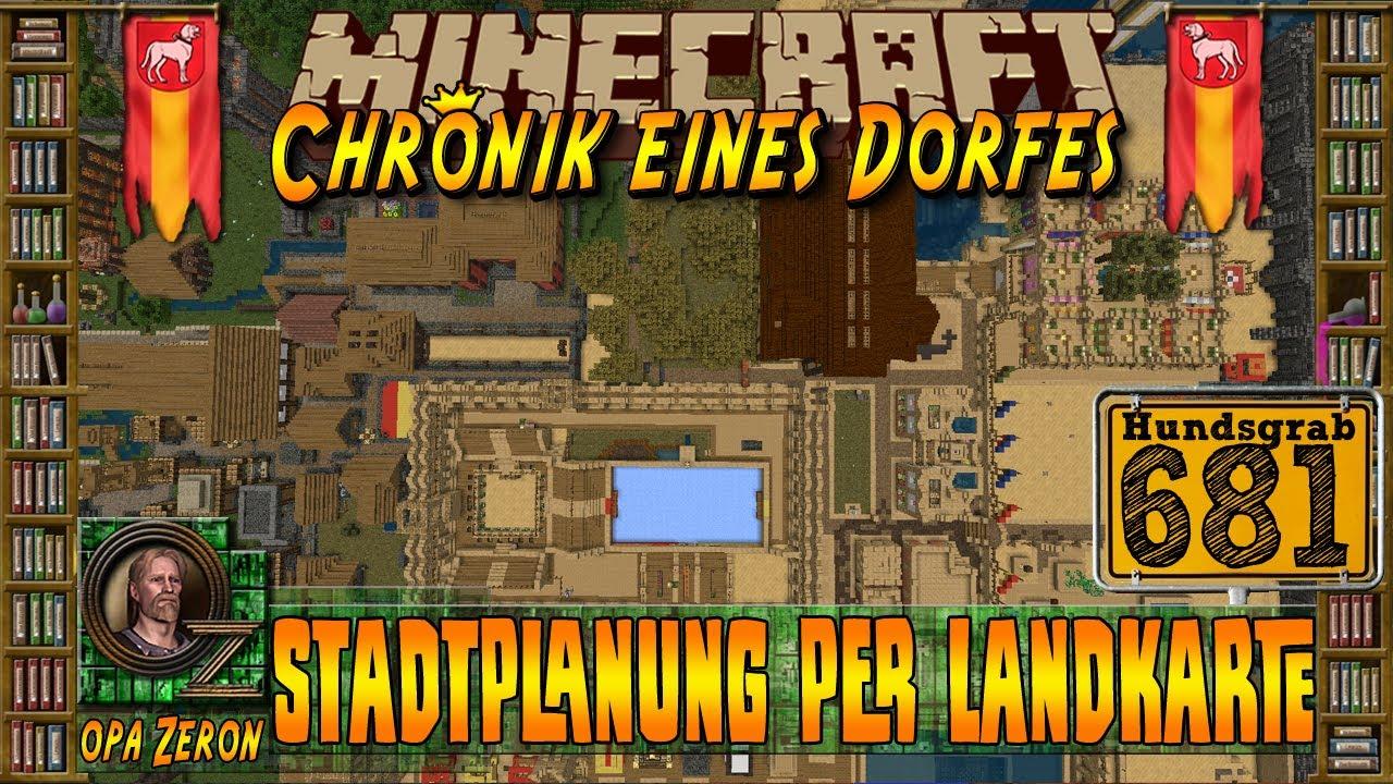 Minecraft Zeit 681 Chronik Eines Dorfes Stadtplanung Per