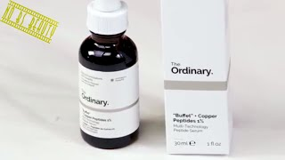 Deciem's The Ordinary The Buffet Serum + Copper Peptides 1% Review
