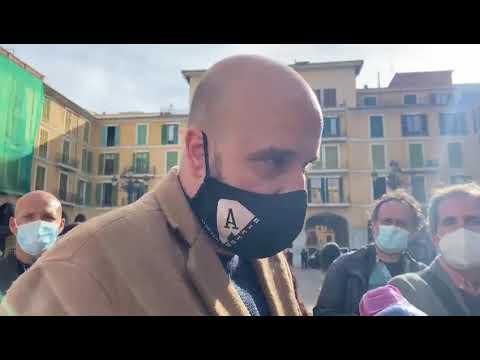 Manifestación de Resistencia Balear, 3 febrero 2021