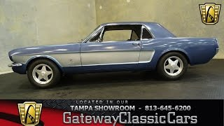 1965 Ford Mustang 289 CID V8 Automatic
