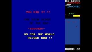 New Rally X Record 1´000.000, ONE MILLION  dificultad media