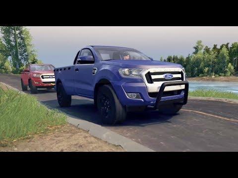 Ford Ranger 4x4 Offroad Al Rescate En El Río