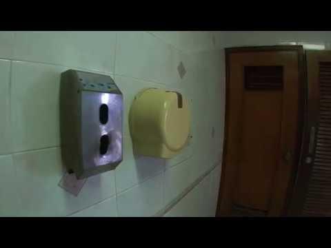 Public washroom at Plaza Las Americas, Varadero
