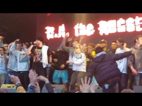 R.A. the Rugged Man Holla-Loo-Yuh live Touch the Air 2015