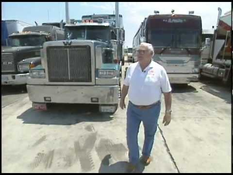 Truck Stop Borgnine: Ernest Borgnine Pays Respect to Truckers USA