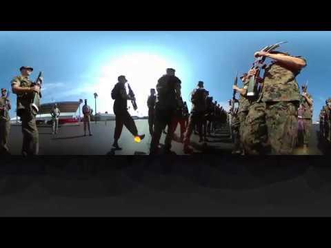 360 Marine Drill Instructor Colum Right