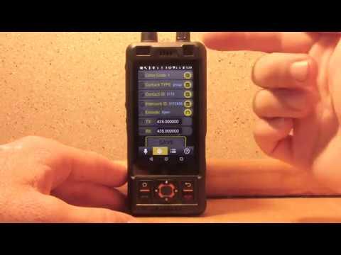 Ham radio android UHF DMR smartphone Sure 8s