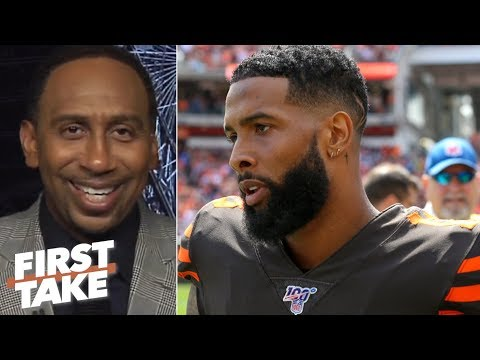 Stephen A. isn鈥檛 fazed by OBJ鈥檚 watch: We鈥檝e seen everything but winning! | First Take