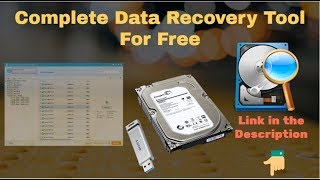 Data Recovery Software for PC or Laptop || Data recovery from hard disk, USB or Memory card