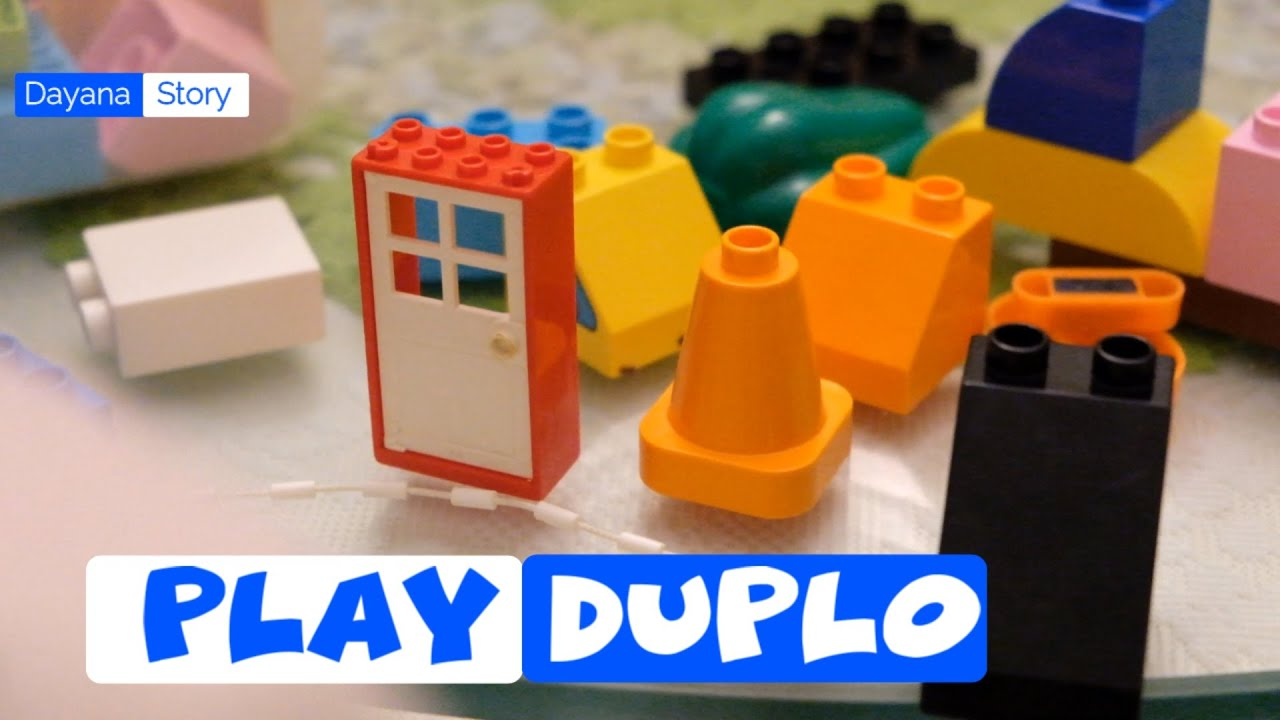 DROP IT | Play Duplo | Nursery Rhymes For Children By Dayana Story