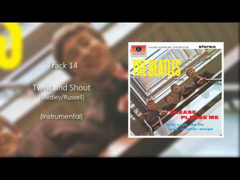 The Beatles - Twist And Shout (Official Instrumental)